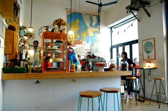 Café Cometa tijdens een stedentrip naar Barcelona