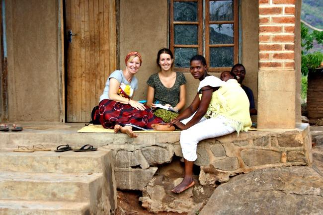Lesgeven tijdens vrijwilligerswerk in Malawi