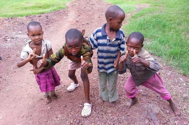 Kinderen Mto wa Mbu