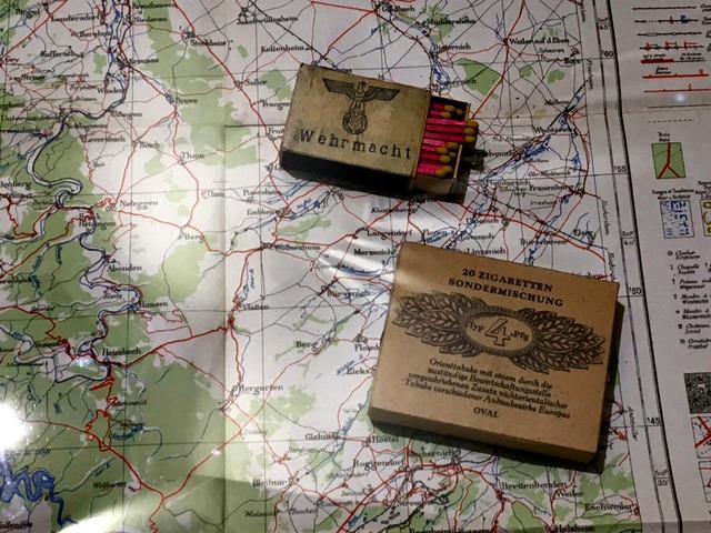 Landkaart uit de collectie Bastogne War Museum