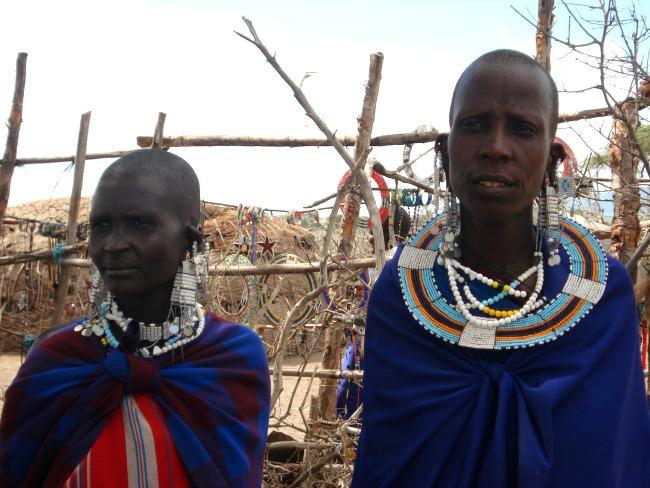 Maasai vrouwen