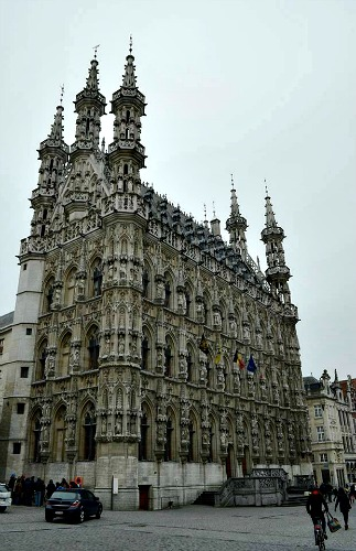 ILuvLeuven tickets voor de highlights tijdens stedentrip naar Leuven stadhuis
