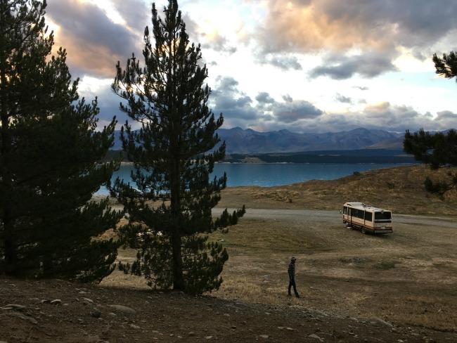 52 Lake Pukaki uitzicht op Mount Cook