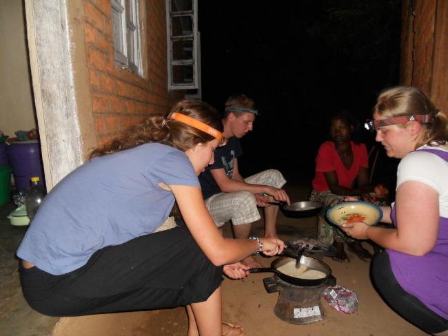 Zelf eten koken tijdens het reizen