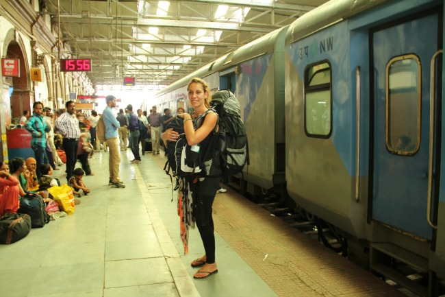 Backpacken India