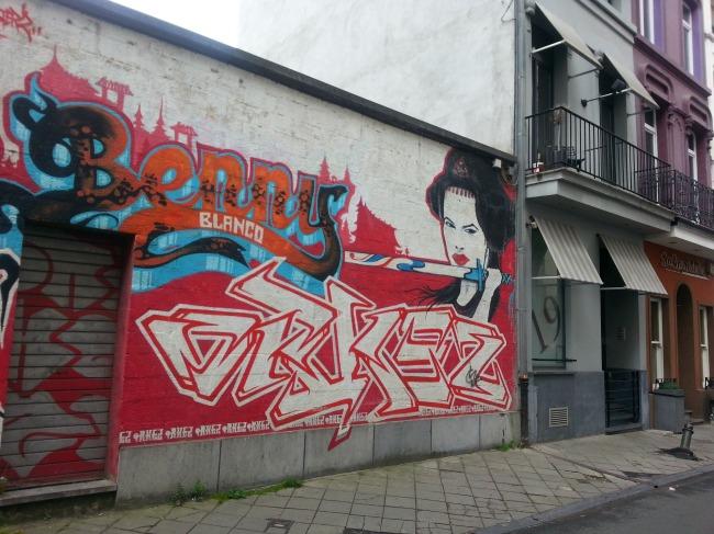 Wees alert, kunst is overal in Brussel