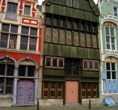 Houten huizen Mechelen