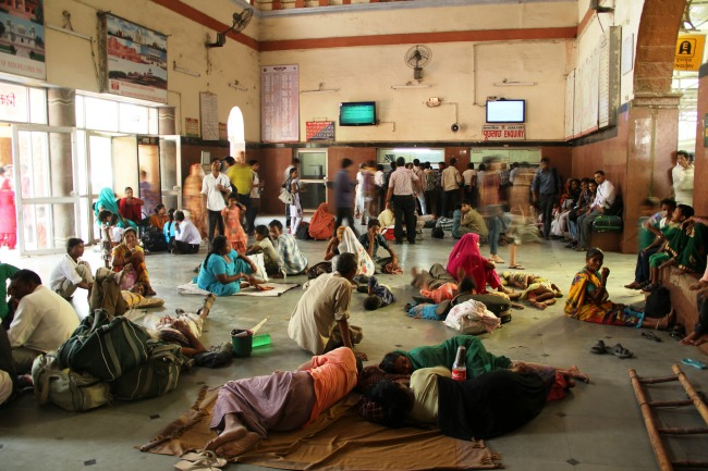 India treinstation