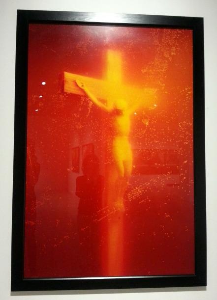 Controversiële kunst van Andres Serrano, Piss Christ