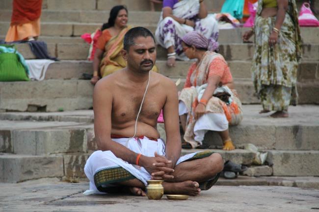Praying Varanasi