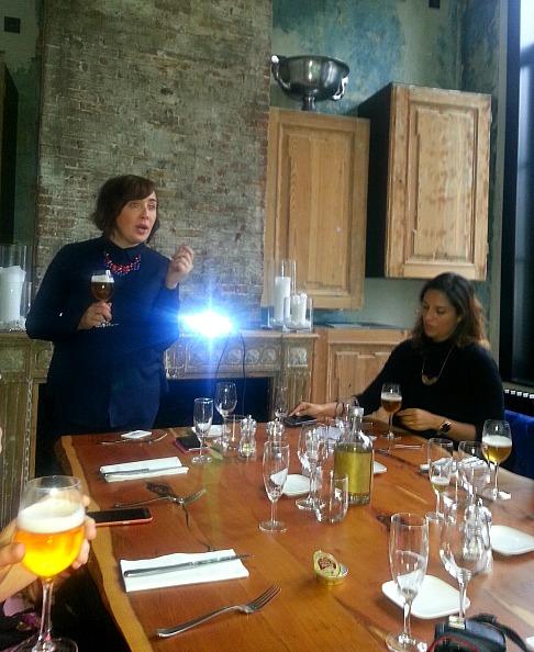 Workshop 'Bier. Vrouwen weten waarom' door biersomelier en bezielster 'vrouwen en bier' Sofie Vanrafelghem