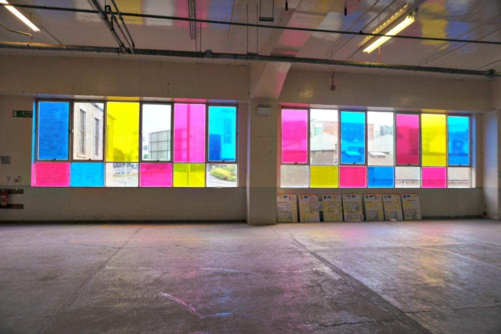 Het industriële gebouw: West Ward Works tijdens Dundee Design Festival