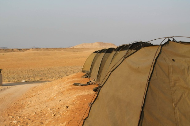 Overnachten in de woestijn