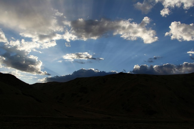 Ladakh sunset