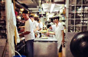 Michelinster Singapore keuken
