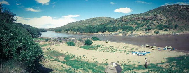 Raften Zuid Afrika uitzicht