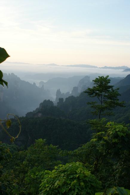 Sunrise Zhangjiajie