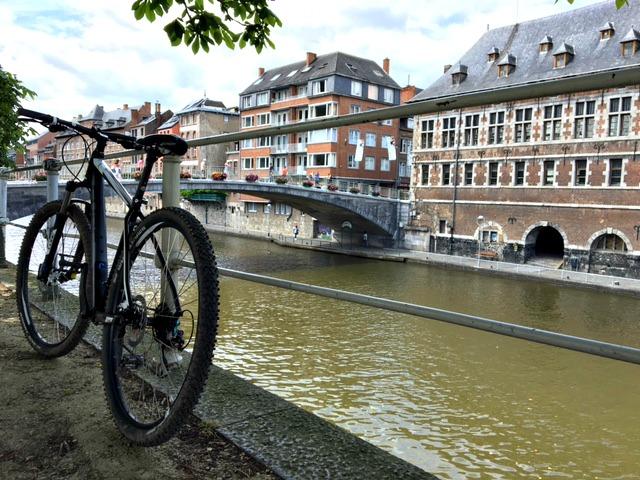 Fietsen in Namen Belgie