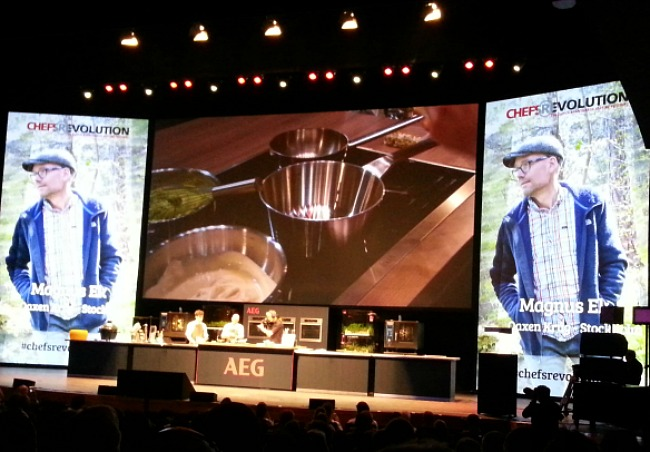 De indrukwekkende kookdemonstratie van Magnus Ek. Ben je in Stockholm bezoek zijn restaurant Oaxen Krug