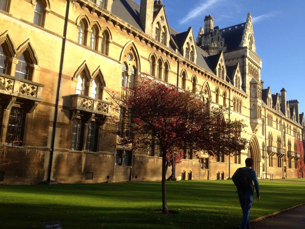 Christ Church - Betoverende colleges in Oxford - Vive Le Voyage