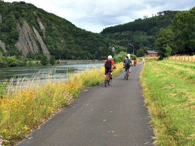 RAVel fietspad van Namen naar Dinant