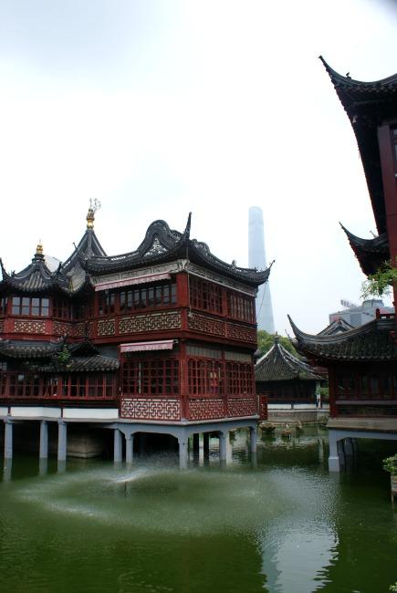 Shanghai oude stad