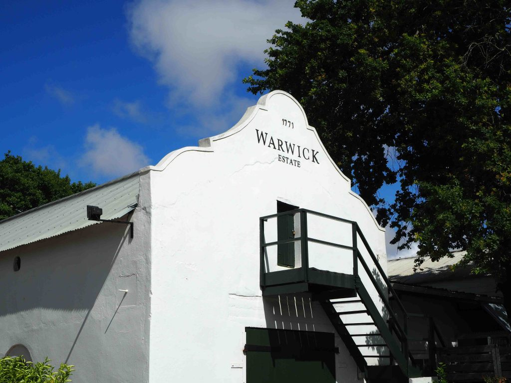 Warwick Wine Estate - Wijn is fijn in Stellenbosch! - Vive Le Voyage