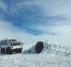 langjokull gletsjer ijsland ijstunnel