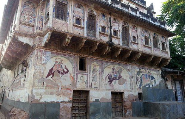 fresco-haveli-Nawalgarh