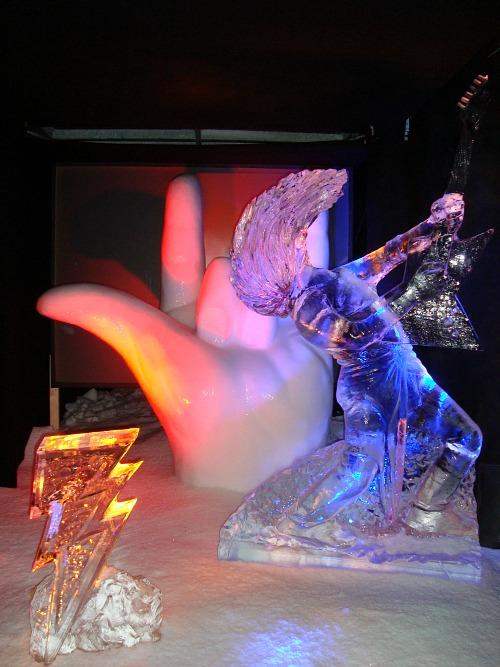 Prince-ijsbeelden festival