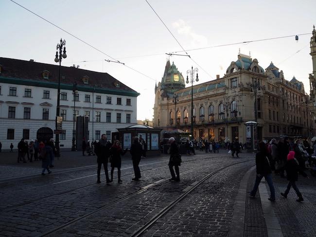winter in Praag