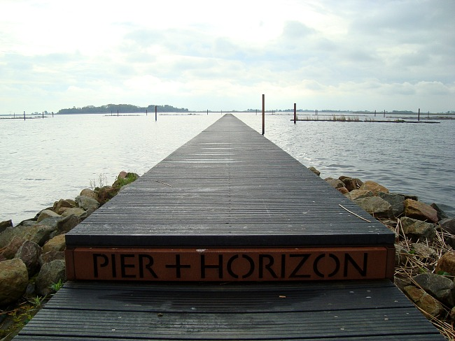 Pier + Horizon Land Art Flevoland