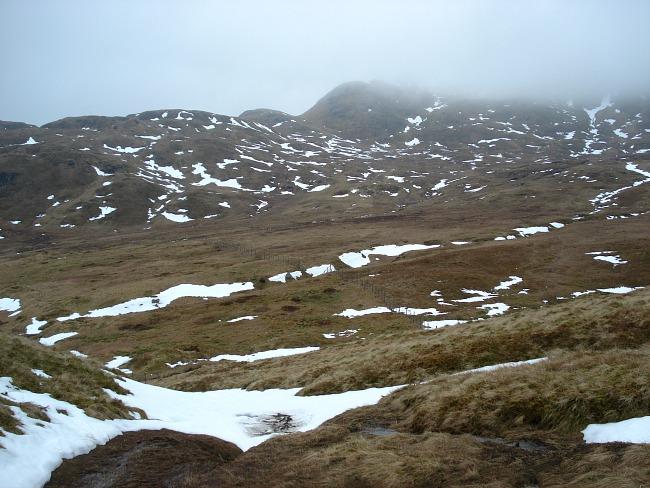 Wisselend landschap tijdens beklimmming Ben Nevis