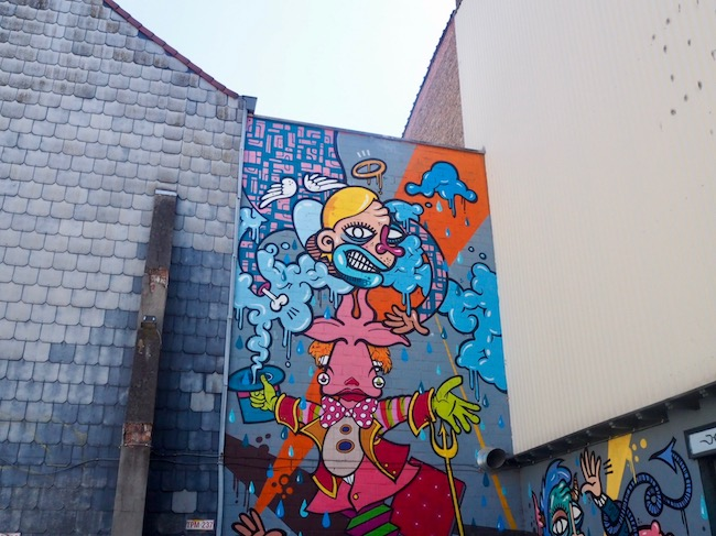 Street Art in Antwerpen