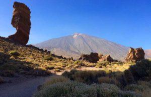 Uitzicht op vulkaan el Teide