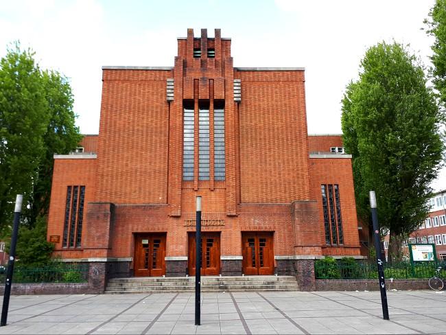 De Jeruzalem kerk in Amsterdam West