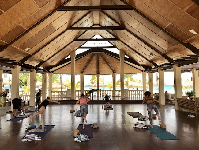 yoga op Aruba
