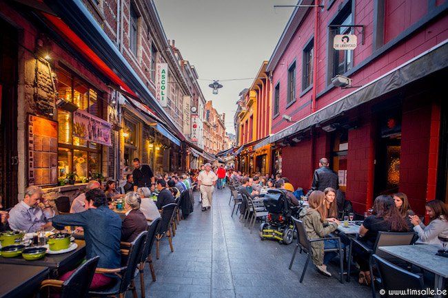 Zomer in Leuven culinaire dag tijdens Hapje Tapje