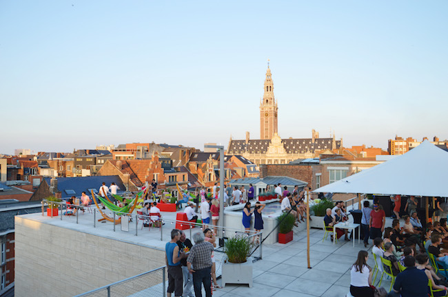 Zomer in Leuven Rooftop bar M Museum