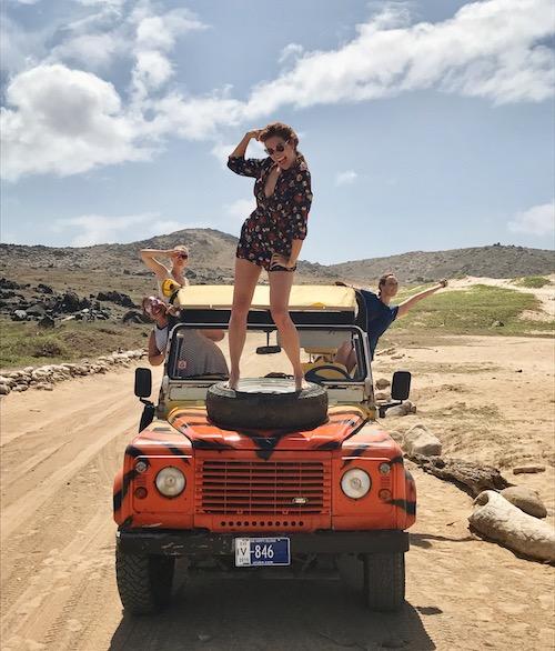 reisjournalist Yvette Bax op Aruba