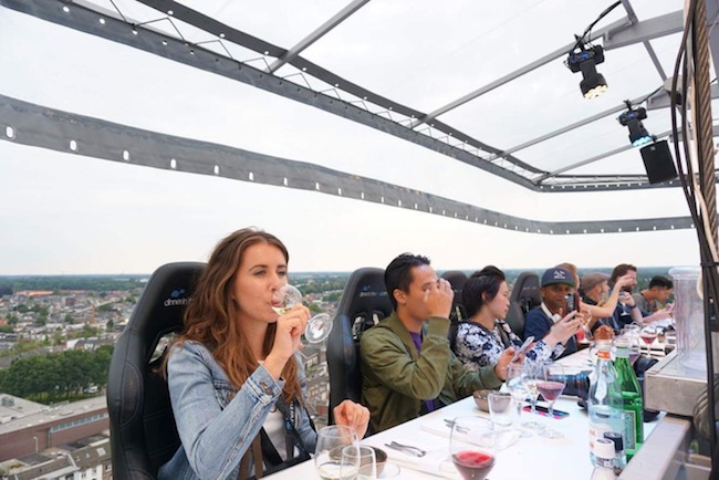 Dinner in the Sky in Nederland en België