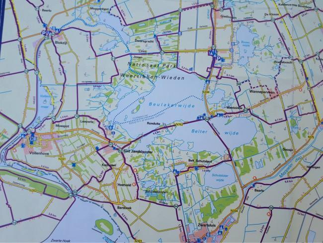 Ontdek Weerribben-Wieden te voet over het water of op de fiets