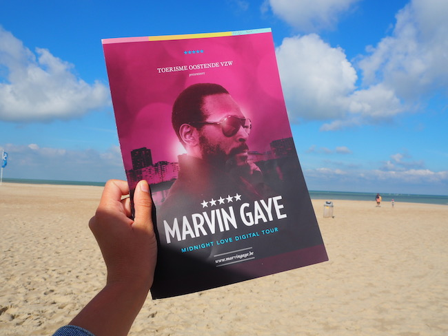 Marvin Gaye in Oostende