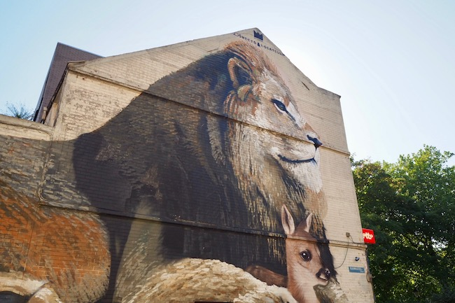 The Crystal Ship: street art in Oostende