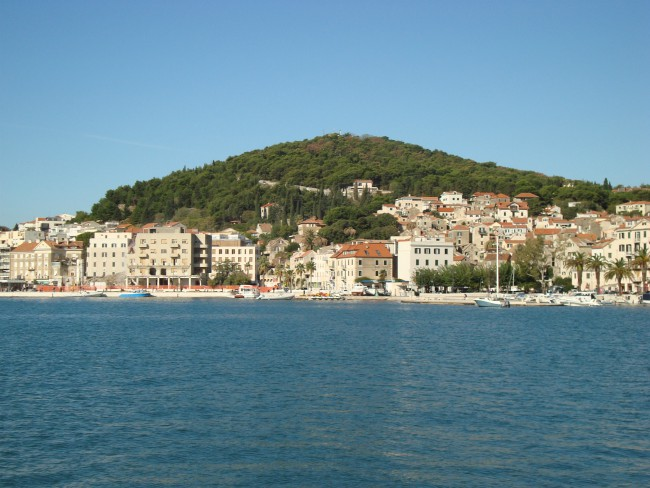 Beklim heuvel Marjan in Split