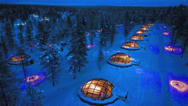 Hotel Kakslauttanen Saariselkä, Finland