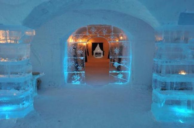 Sorrisniva Igloo Hotel Alta, Noorwegen