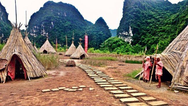 Kong Island Filmset