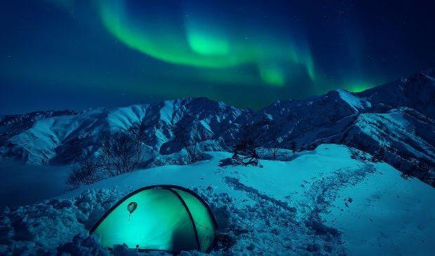 Noorderlicht Scandinavië Wereldwonder