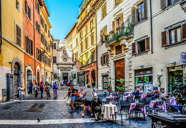 Romantisch Rome